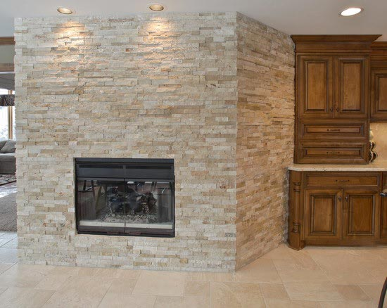 ile-Fireplace-Ledgerstone-Design Tile Inc, Tysons Corner,VA